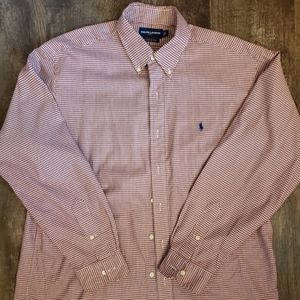 RALPH Lauren Golf Classic Fit, Button Down Sz Larg